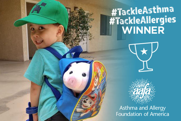 adventure of boy and his pig tackle asthma winner bt