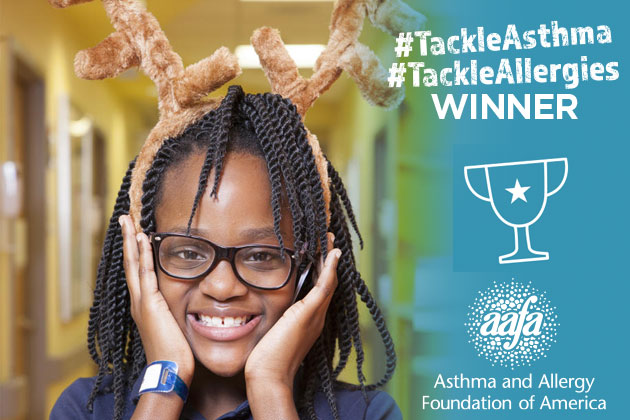eden tackle asthma winner